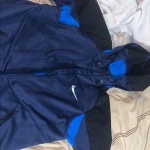 Nike Full ZIP Rain/Fall Jacket. large !!